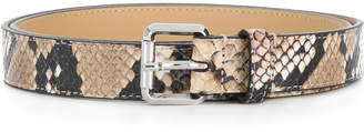 Just Cavalli snake skin effect belt