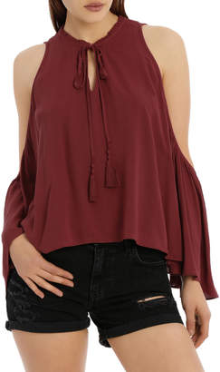 GUESS Sleeveless Kira Soft Gauze Top