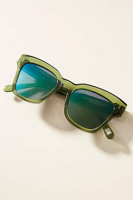 Anthropologie Chimi 005 Square Cat-Eye Sunglasses