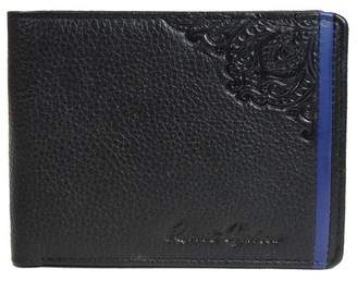 Robert Graham Casablanca Embossed Leather Billfold Wallet