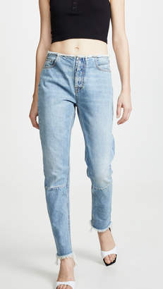Unravel Project High Rise Boyfriend Jeans
