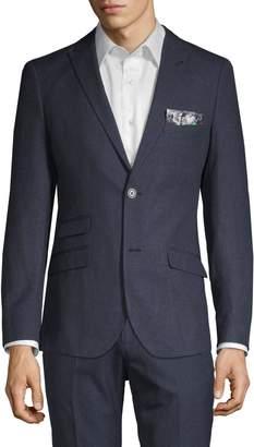 Paisley & Gray Slim Fit Sharkskin Sport Jacket