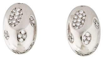 Faraone Mennella 18K Diamond Earclips white 18K Diamond Earclips