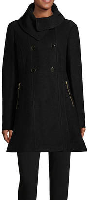 Liz Claiborne Midweight Peacoat-Tall