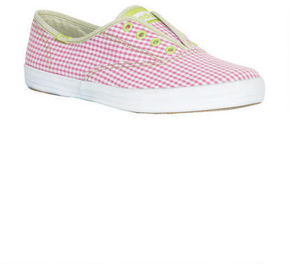 Keds Champion Laceless Gingham