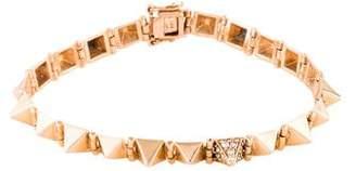 Anita Ko 14K Diamond Small Spike Bracelet