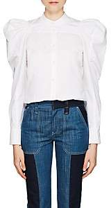 Chloé Women's Cotton Puff-Sleeve Blouse - White