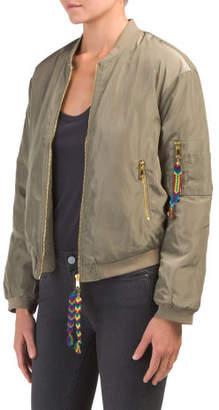 Juniors Friendship Bracelet Bomber Jacket