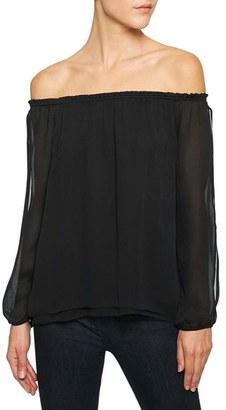 Women's Sanctuary Chantel Slit Sleeve Off The Shoulder Top $89 thestylecure.com