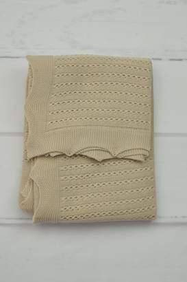 BEIGE Granlei 1980 Knitted Blanket
