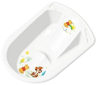 Disney Okt Baby Bath Tub with Seat and Stopper WINNIE THE POOH 80 cm Colour: White
