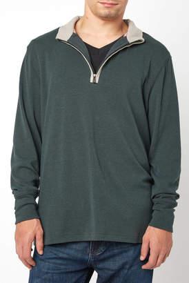 The Normal Brand Puremeso 1/4 Zip Pullover