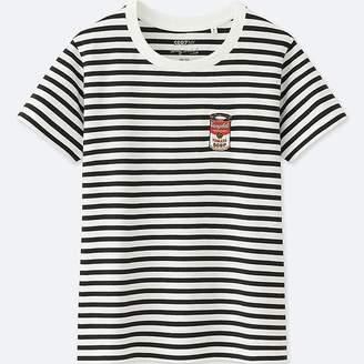 Uniqlo Women's Sprz Ny Andy Warhol Graphic T-Shirt