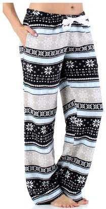 PajamaMania Women s Sleepwear Fleece Pajamas PJ Pants 8d7390aad