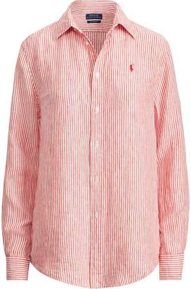 Ralph Lauren Relaxed Striped Linen Shirt