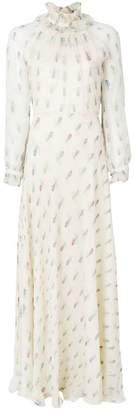 Vilshenko Abigail moth print dress