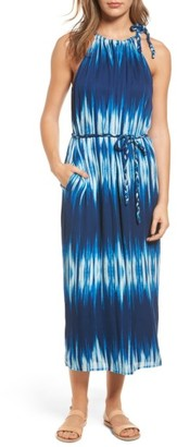 Women's Tommy Bahama Petra Tie Neck Maxi Dress $198 thestylecure.com