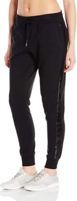 Betsey Johnson Women's Sequined Skinny Sweatpant