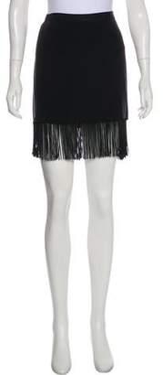 Elizabeth and James Mini Fringe Skirt