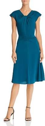Milly Tatiana Twist-Front Dress