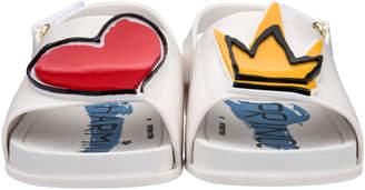 Mini Melissa + Vivienne Westwood Slide Sandal, Toddler