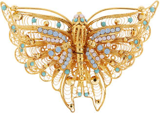 Jose & Maria Barrera Filigree Butterfly Pin