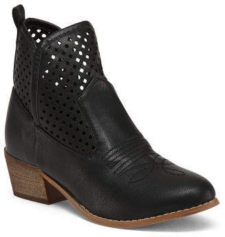 Western Inspired Ankle Booties