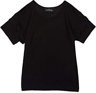Little Remix Kids' Ruffled-Sleeve Jersey T-Shirt