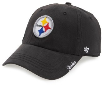 Women's '47 Pittsburgh Steelers Cap - Black $25 thestylecure.com