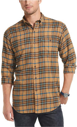 G.H. Bass & Co. Men Fireside Classic-Fit Plaid Flannel Shirt