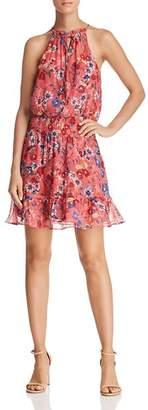 Parker Serenity Floral Silk Dress