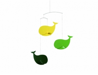 Pin It Flensted Mobiles Happy Whales Mobile