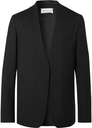 Maison Margiela Black Unstructured Wool Blazer