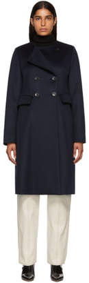 Isabel Marant Navy Fanki Coat