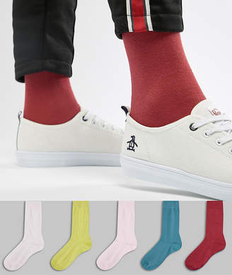 Asos Design Socks Retro Colours 5 Pack Save