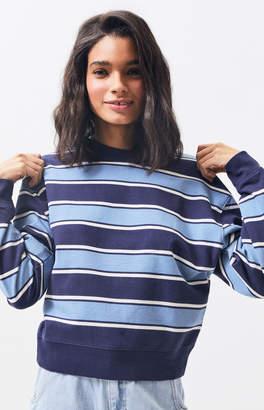 PS / LA Downtown Stripe Crew Neck Sweatshirt