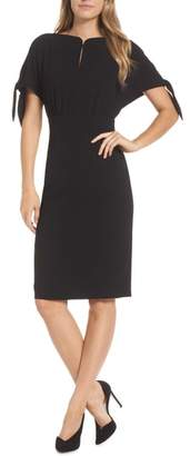 Harper Rose Bow Sleeve Sheath Dress