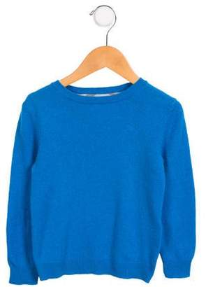 Burberry Boys' Crew Neck Cashmere Sweater