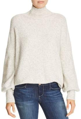 French Connection Orla Flossy Textured Mock-Neck Sweater