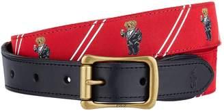 Polo Ralph Lauren Polo Bear Motif Belt