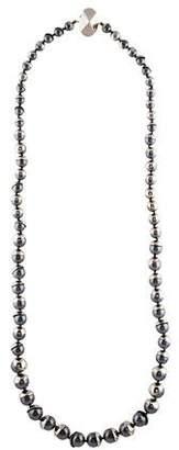 Christian Dior Mise en Faux Pearl Long Necklace