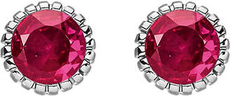 Thomas Sabo Glam & soul red stone sterling silver ear studs