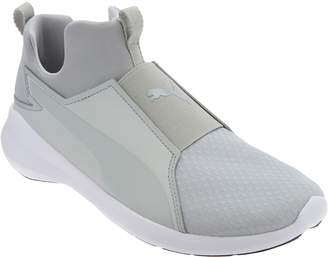 Puma Mesh Slip-On Training Sneakers - Rebel Mid