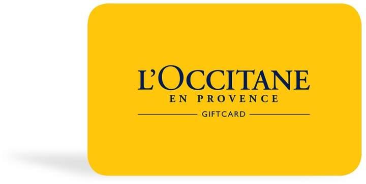 None L'OCCITANE Gift Card $40