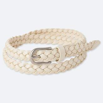 Uniqlo Women's Mesh Skinny Belt