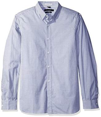 French Connection Men's Horizontal Oxford