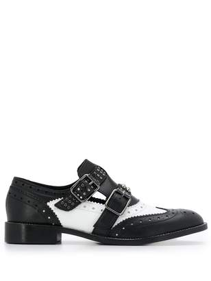 Twin-Set buckle strap brogues