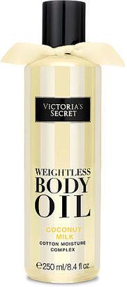 Victorias Secret Coconut Milk Weightless Body Oil $7 thestylecure.com
