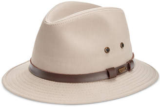 Dorfman Pacific Stetson Men's Gable Rain Safari Hat
