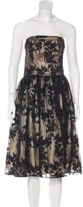 Rachel Antonoff Strapless Midi Dress